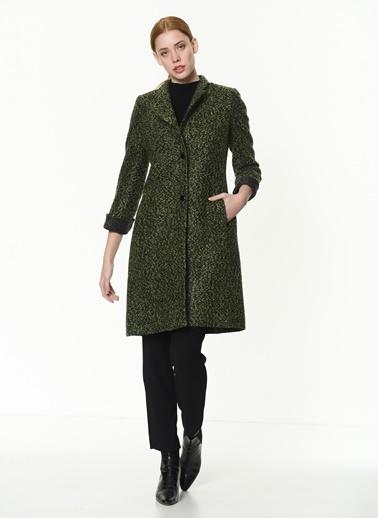 Dewberry Palto Yeşil